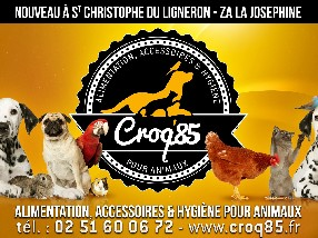 CROQ'85 ANIMAL NUTRITION Saint Christophe du Ligneron